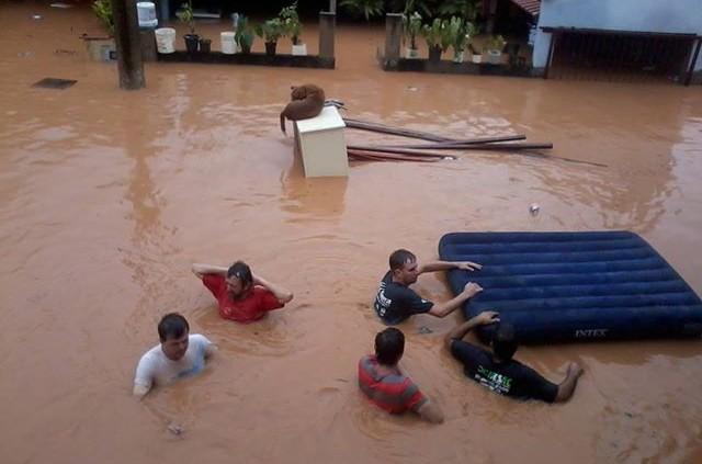 Überschwemmung in Brasilien