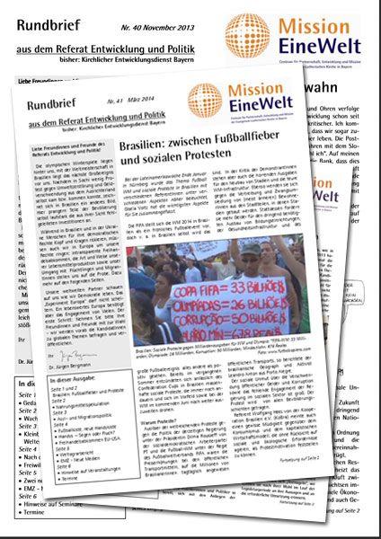 Rundbrief Entwicklung und Politik (EP)