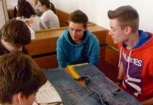 Workshop mit Schülern