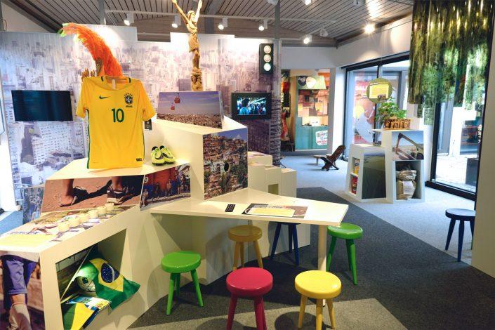 Ausstellungsbereich Brasilien