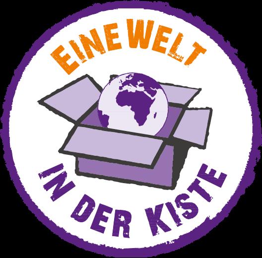 """Logo """"Eine Welt in der Kiste"""""""