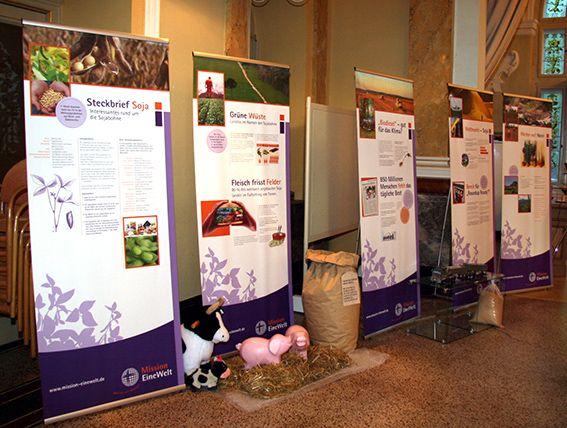 Soja-Ausstellung