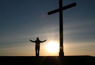 Andacht am Kreuz