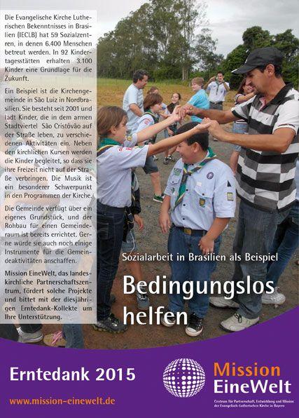 Gemeindebriefvorlage Erntedank-Aktion 2015