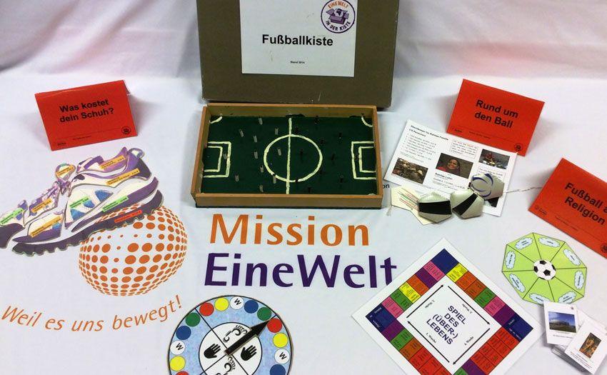 Entwicklungspolitische Kiste: Fußballkiste