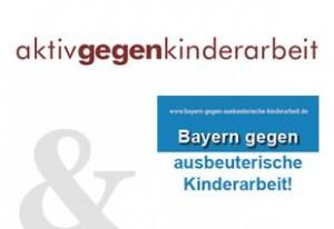Bayern gegen ausbeuterische Kinderarbeit