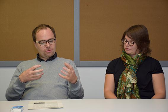 Raphael und Dámaris Quandt berichten über ihre Arbeit in Chiles Hauptstadt Santiago