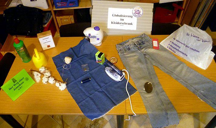Themenkiste: Globalisierung im Kleiderschrank