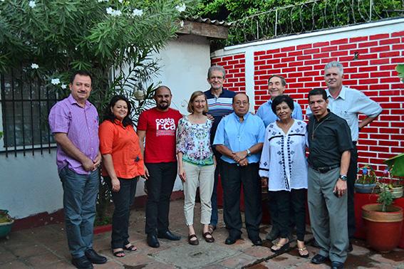 Die Teilnehmer der CILCA-Konferenz in Managua kamen aus El Salvador, Nicaragua, Honduras, Costa Rica, Brasilien und Bayern. © privat