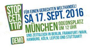 CETA-Demo München 17. September 2016