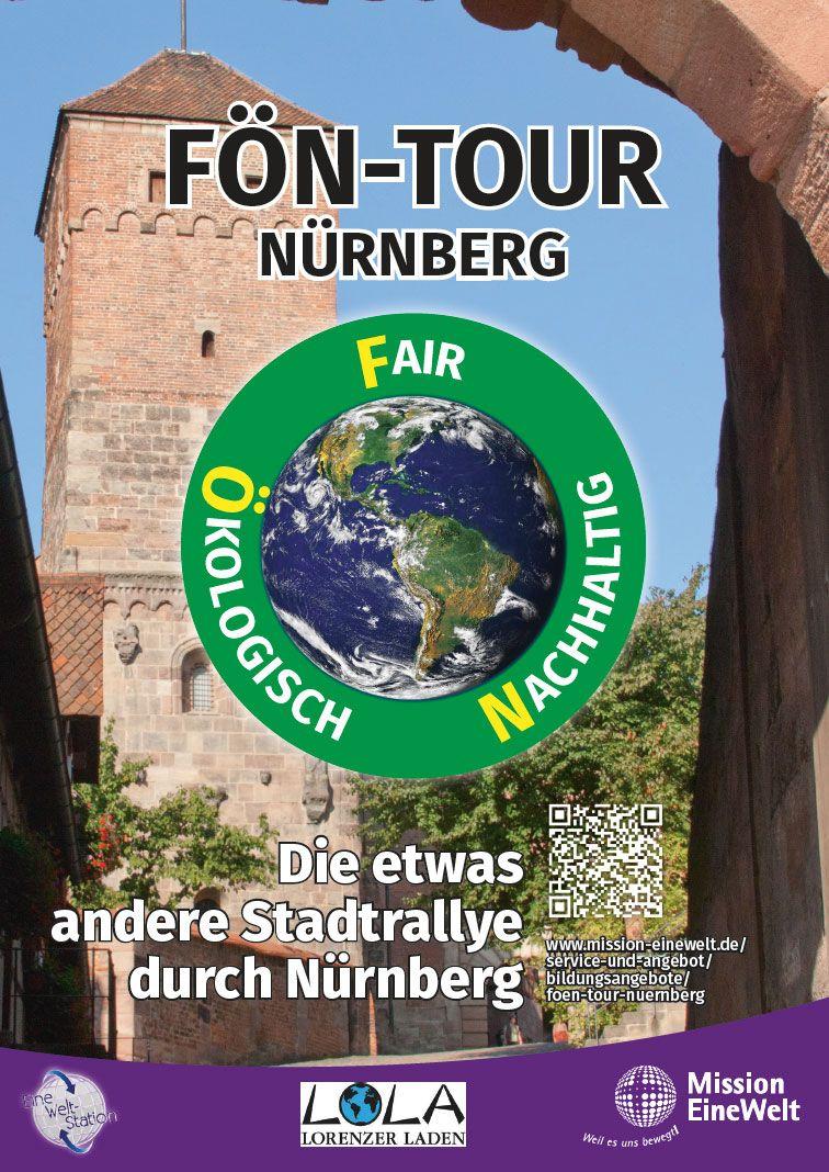 Plakat FÖN-Tour Nürnberg