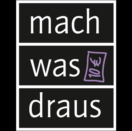 """Aktionslogo """"mach was draus"""""""