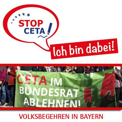 Volksbegehren gegen CETA