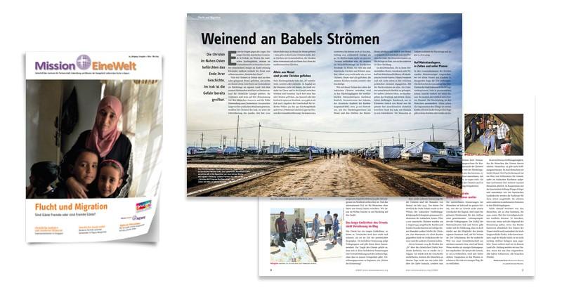 Zeitschrift Mission EineWelt Ausgabe 2 - 2015