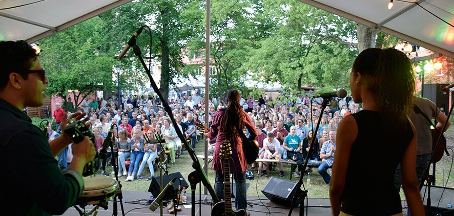 Blick ins Publikum beim Konzert von Judy Bailey in Neuendettelsau. © MEW/ Neuschwander-Lutz