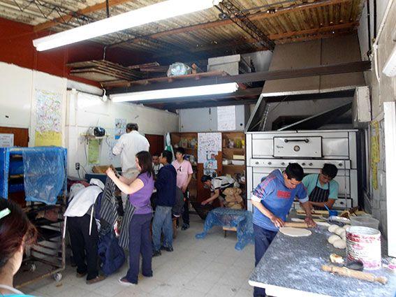 Ausbildung in einer Bäckerei in ArgentinienArgentinien