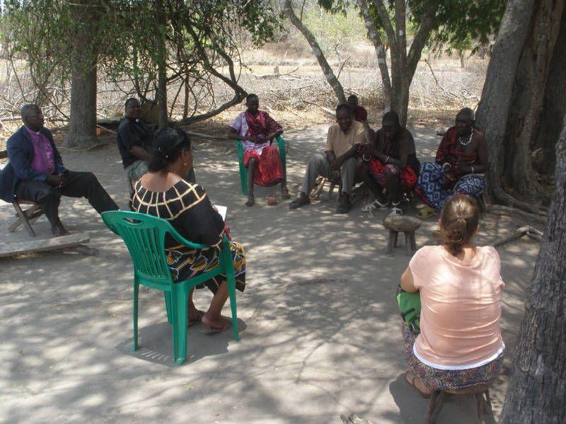 Aufklärungsarbeit in Tansania