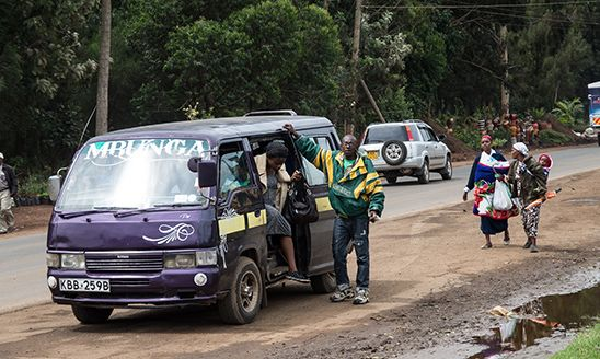 Öffentlicher Nahverkehr in Kenia