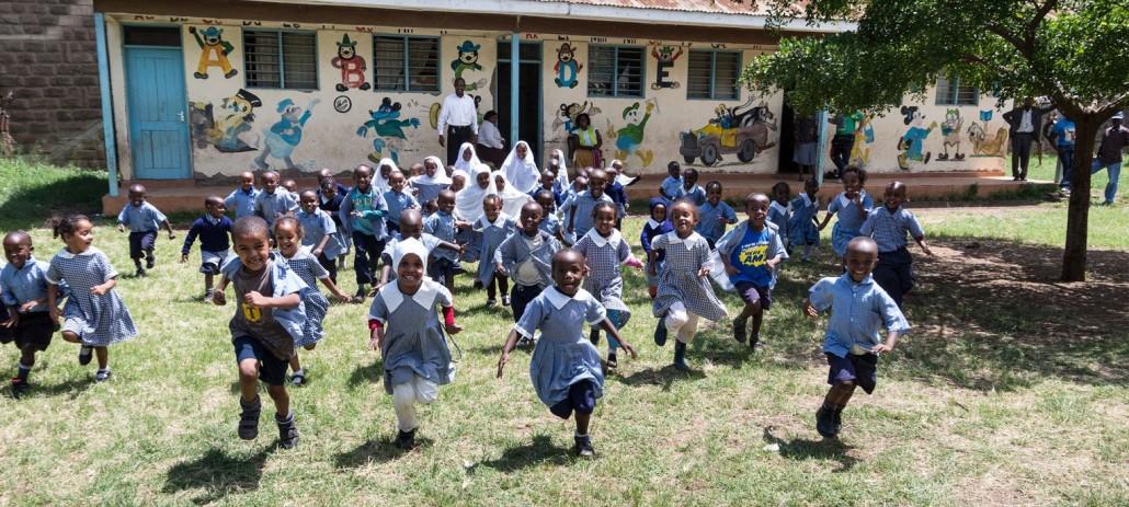 Kinder im PLCC - altes Zentrum Nairobi