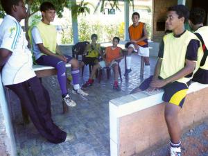"""Jugendliche im Kinder- und Jugendheim """"Lar Padilha"""", Brasilien"""