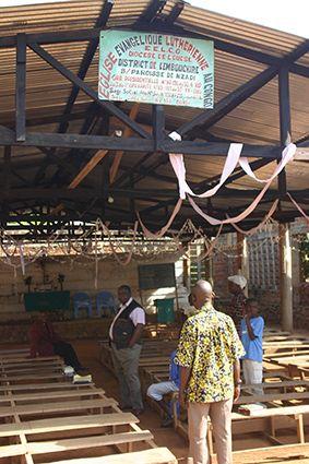 Kirchengebäude im Kongo