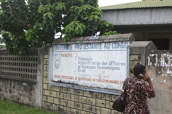 Universität im Kongo