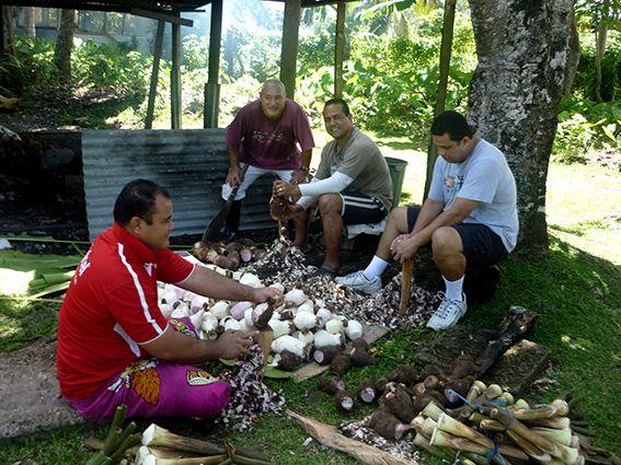 Menschen in Fidschi © Mahr