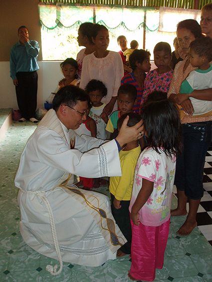 Die Kinder werden gesegnet, Malaysia