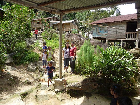 Dorf der Orang Asli im Regenwald © MEW/Paulsteiner