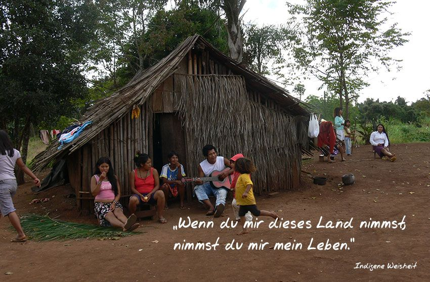 Indigene Bevölkerung in Brasilien