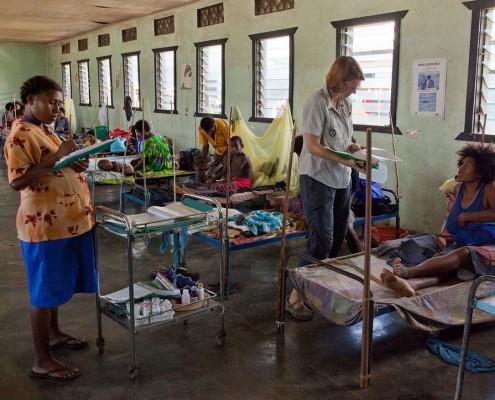 Medizinische Versogrung in Papua-Neuguinea