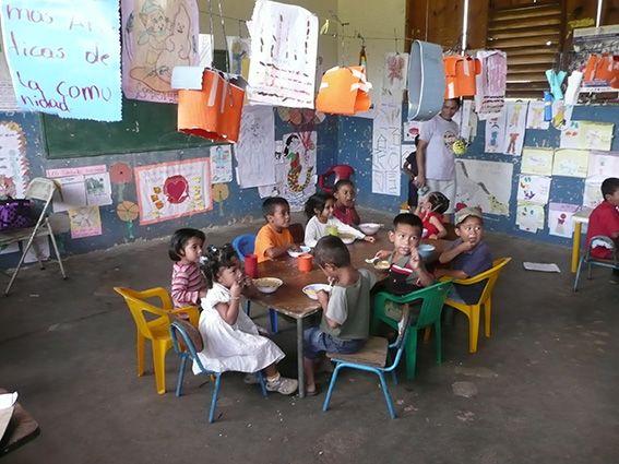 Kindergarten in Carbonera, Honduras
