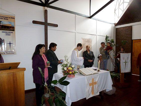 Abendmahl im Gottesdienst, Chile