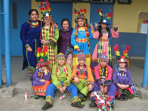 Tanzgruppe aus Chile
