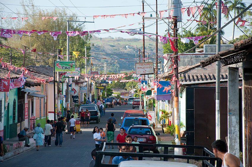 Innenstadt Nejapa, El Salvador