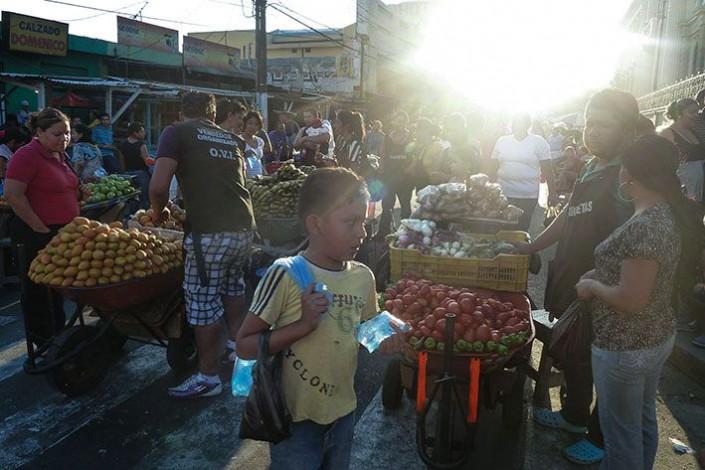 Belebte Straßen, El Salvador