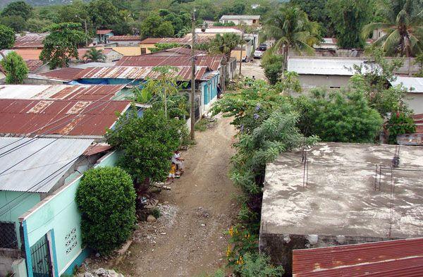 """Das Viertel """"La Unión"""" der Millionenmetropole San Pedro Sula, Honduras"""