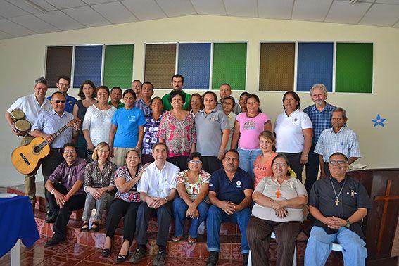 Teilnehmerinnen und Teilnehmer der Landkonferenz.