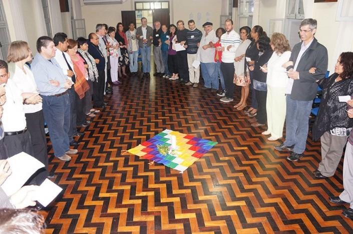 Vertreterinnen und Vertreter der Lutherischen Kirchen in Lateinamerika.