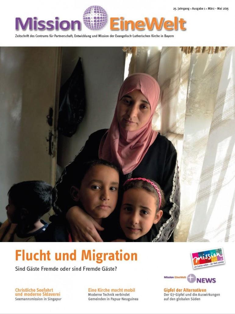 Zeitschrift mit Schwerpunktthema Flucht und Migration