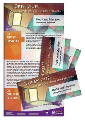 Infoflyer zu Migration und Flucht