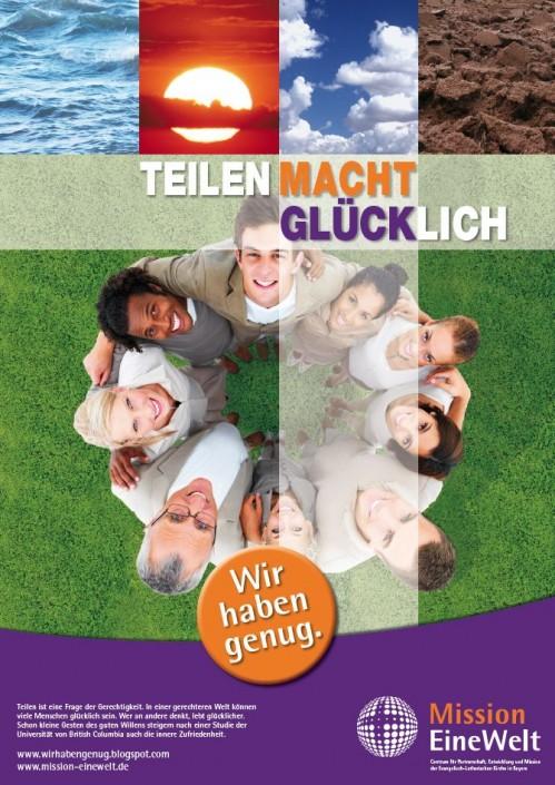 Plakat der Ernährungskampagne