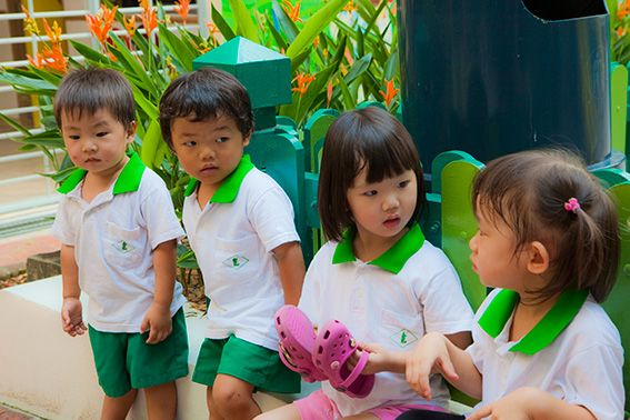 Kinder beim gemeinsamen Spiel © Bernard Riff