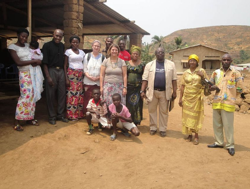 Begegnung der Gemeindeglieder, Partnerschaftsbesuch Dekanat Bad Windsheim - Diözese Kongo West der ev.-luth. Kirche im Kongo (EELCo)