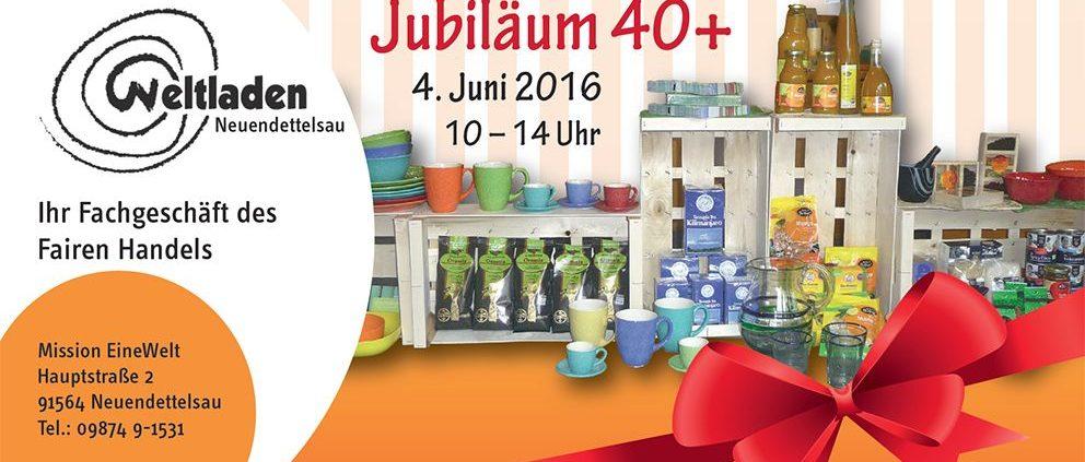 Jubiläum des Weltladens Neuendettelsau
