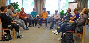 Diskussionsrunde und Gruppenarbeiten waren wichtige Programmpunkte des Pastoralkollegs