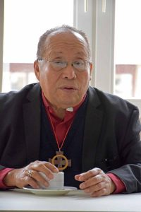 Dr. Medardo Gomez ist der Bischof der Lutherischen Kirche in El Salavador. © MEW/Neuschwander-Lutz