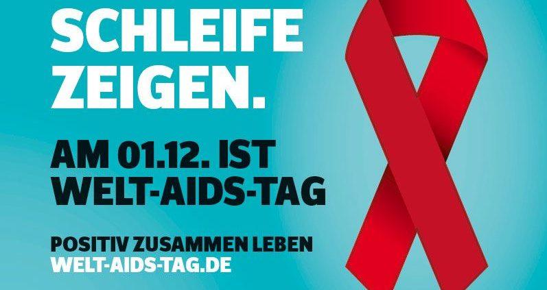 Postkarte zum Welt-AIDS-Tag 2016 © Bundeszentrale für gesundheitliche Aufklärung