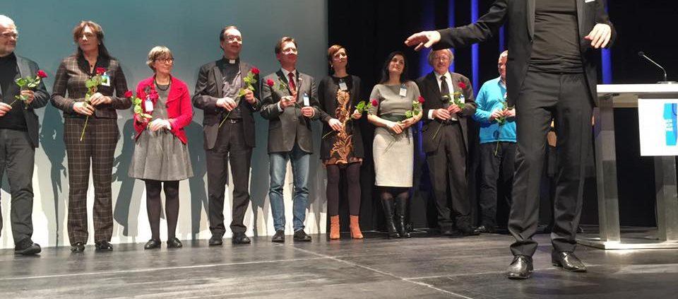 Dank für die Veranstalter des Deutschen Menschenrechts-Filmpreises 2016 © Deutscher Menschenrechts-Filmpreis, https://www.facebook.com/deutscher.menschenrechtsfilmpreis