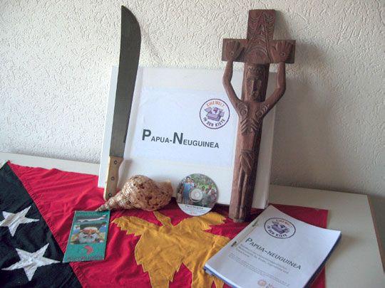 Papua-Neuguinea-Kiste